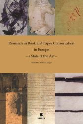 Research in Book and Paper Conservation in Europe - a State of the Art -