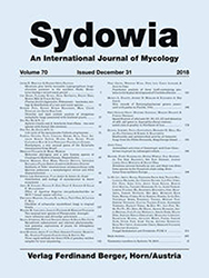 Sydowia Vol. 70 E-Book/S 107-127 OPEN ACCESS