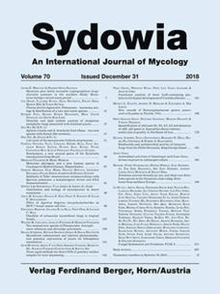 Sydowia Vol. 70 E-Book/S 81-88 OPEN ACCESS