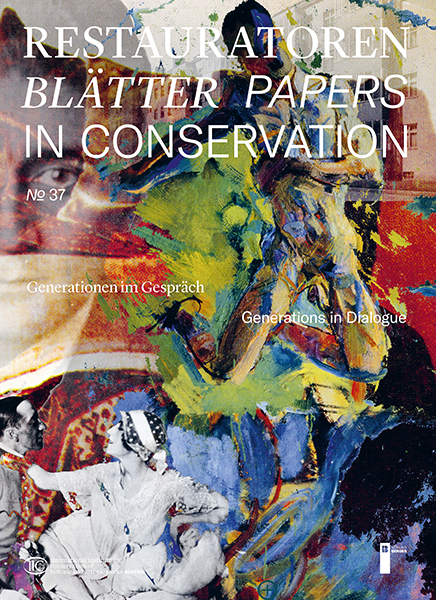 Restauratorenblätter - Papers in Conservation Band 37